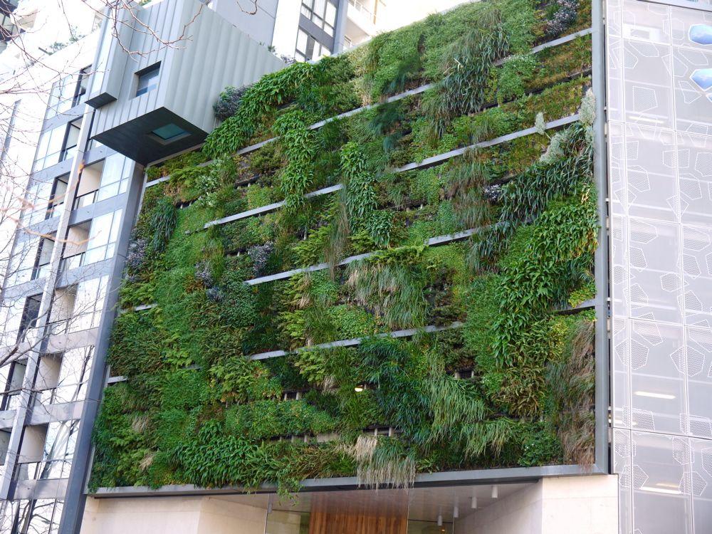 Triptych Apartments Southbank Melbourne Vertical Gardens