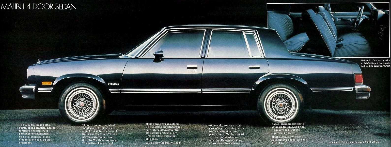 1983 Chevrolet Malibu Chevrolet Malibu Chevy Malibu Chevrolet