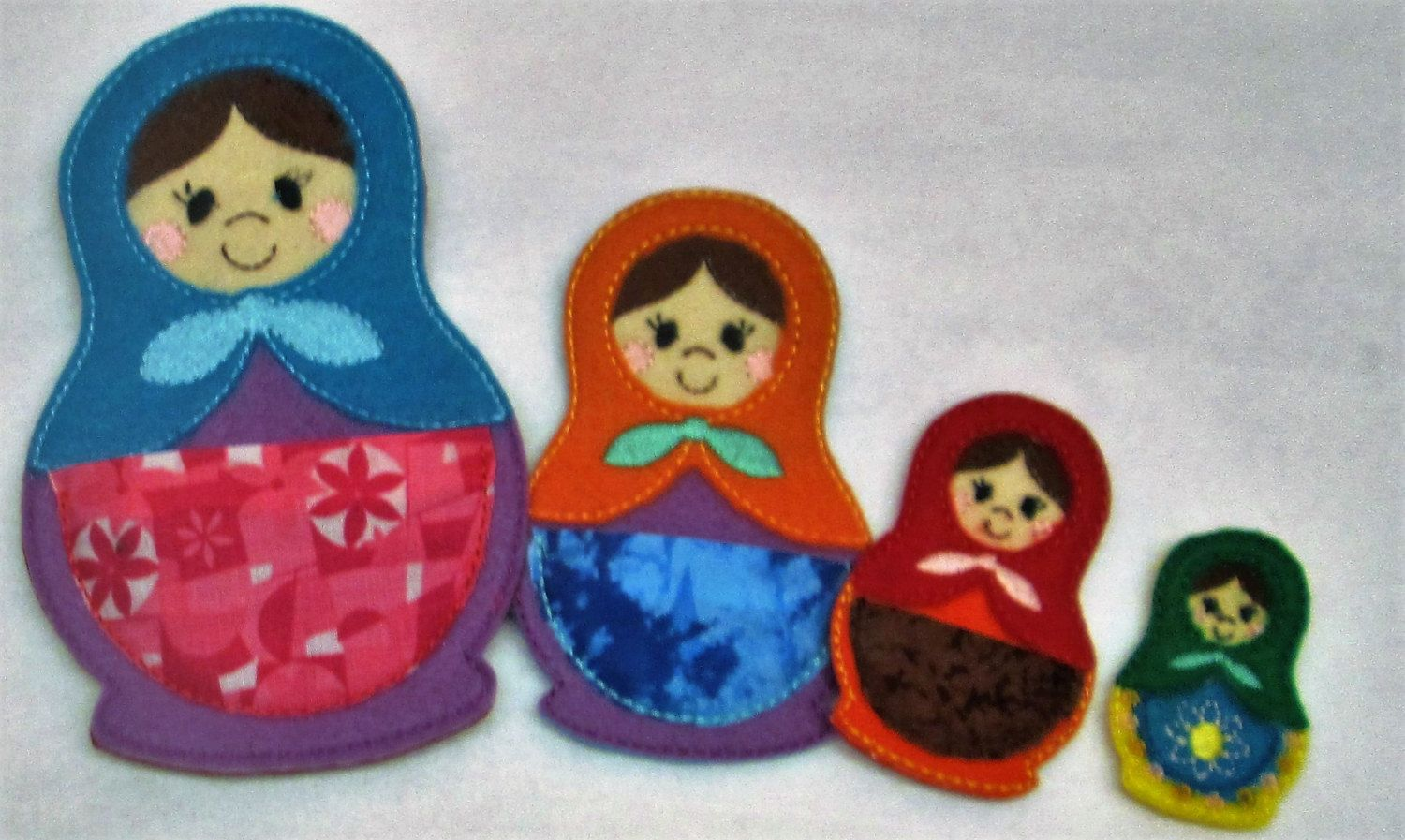 Matryouska Russian Nesting Dolls ... All Ages... Loads of fun!  Ready 2 Ship! Quiet Time!