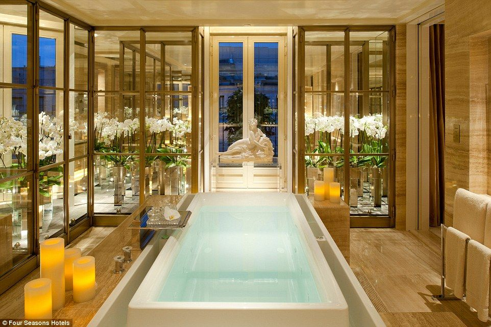 The World's Most Luxurious Hotel Bathrooms Revealed  Penthouse Classy Luxury Hotel Bathroom Decorating Design