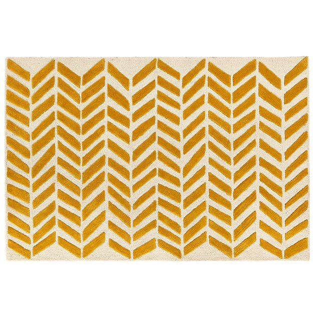 Pin By The Land Of Nod Design Servic On Nursery For Anne Yellow Chevron Rugs Chevron Rugs Childrens Room Rugs