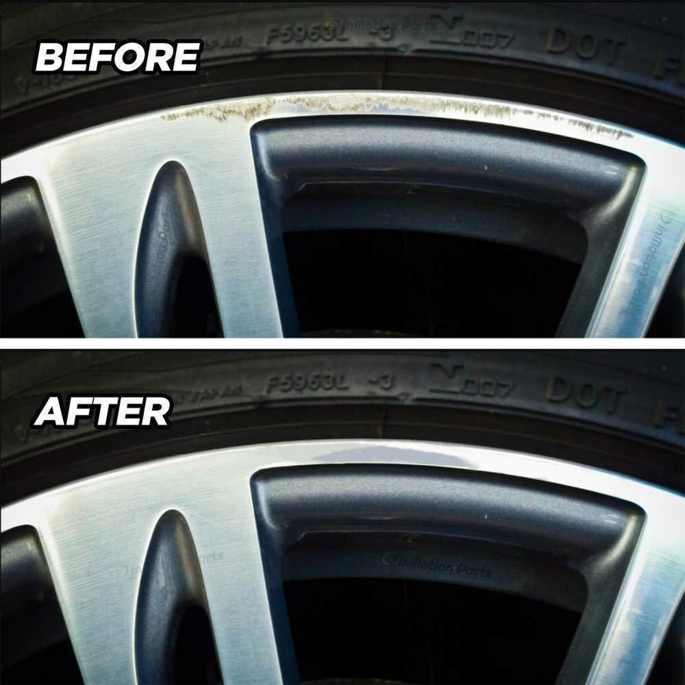 how to fix scratched rims from curb