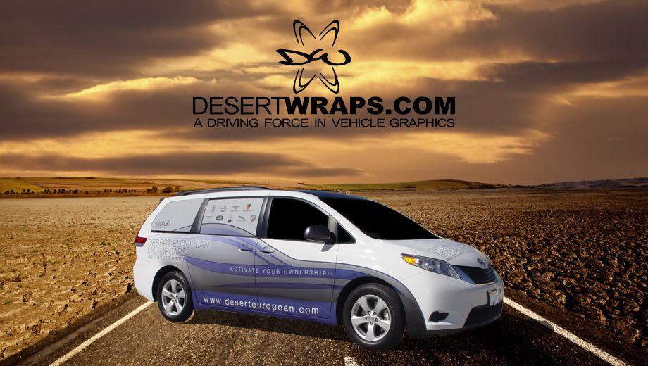Van wrap. Learn more at http://www.DesertWraps.com