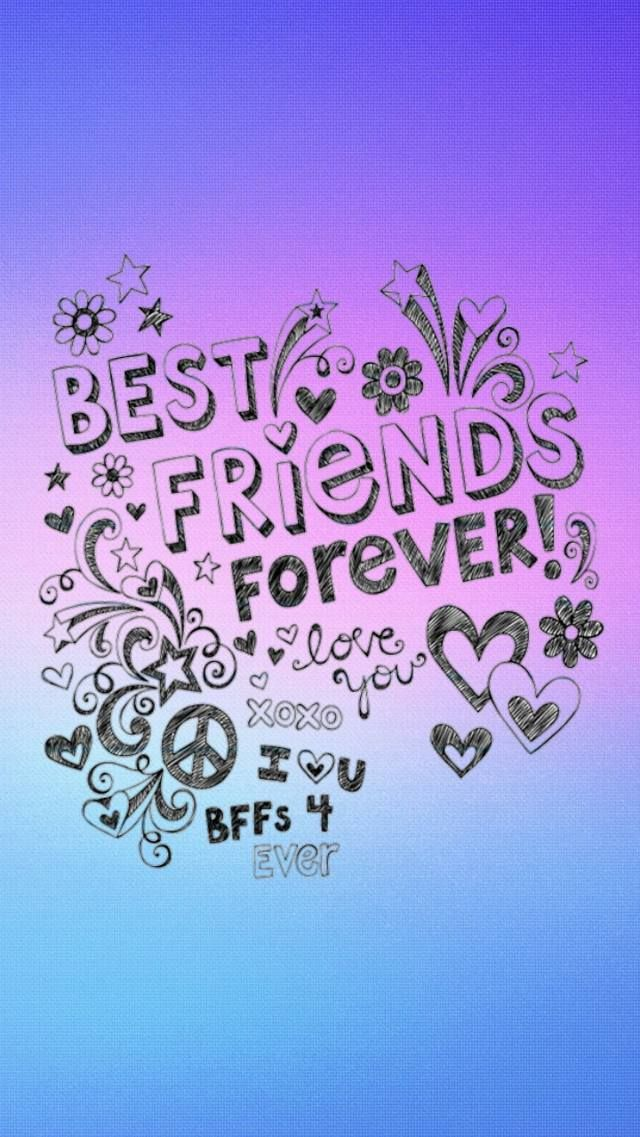 Zedge Free Downloads For Your Cell Phone Free Your Phone Friends Quotes Best Friend Wallpaper Friends Quotes Funny Best wallpapers love friendship