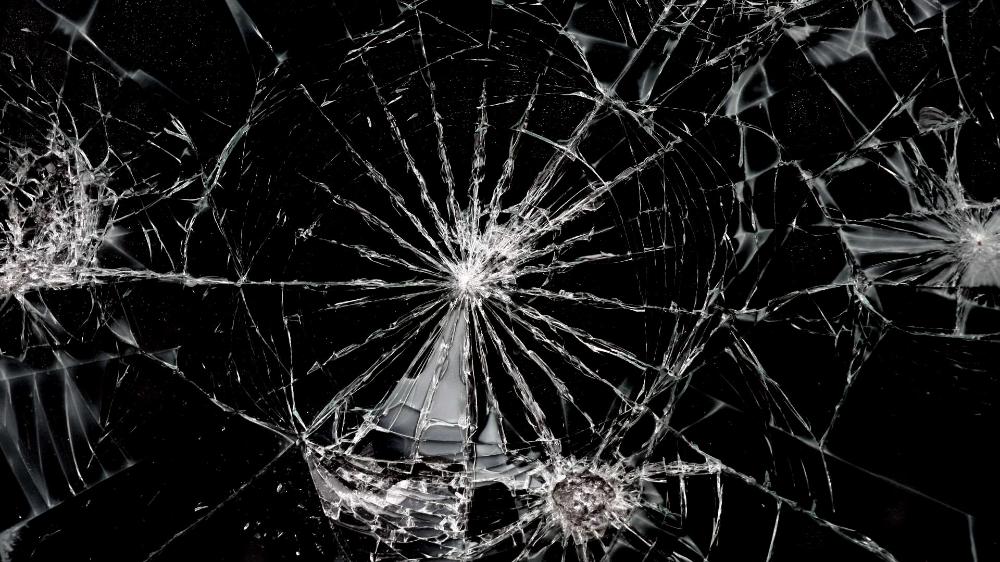 Cracked Desktop Screen Prank Oboi Android Tekstury Steklo