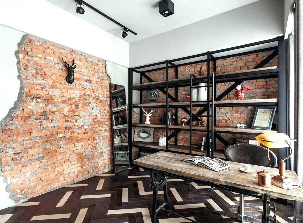 Idee De Renovation De Bureau Avec Un Style Industriel Et Une