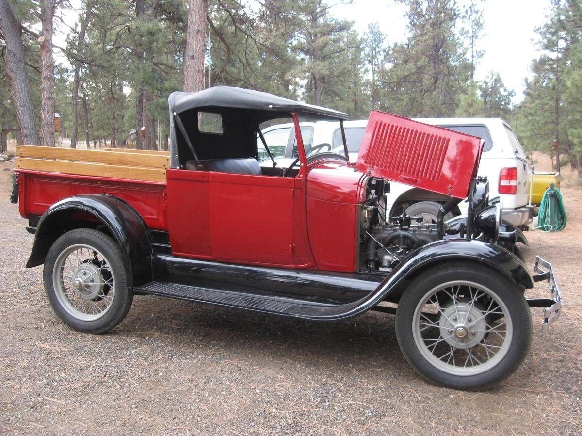 1929 ford model a ford roadster p u