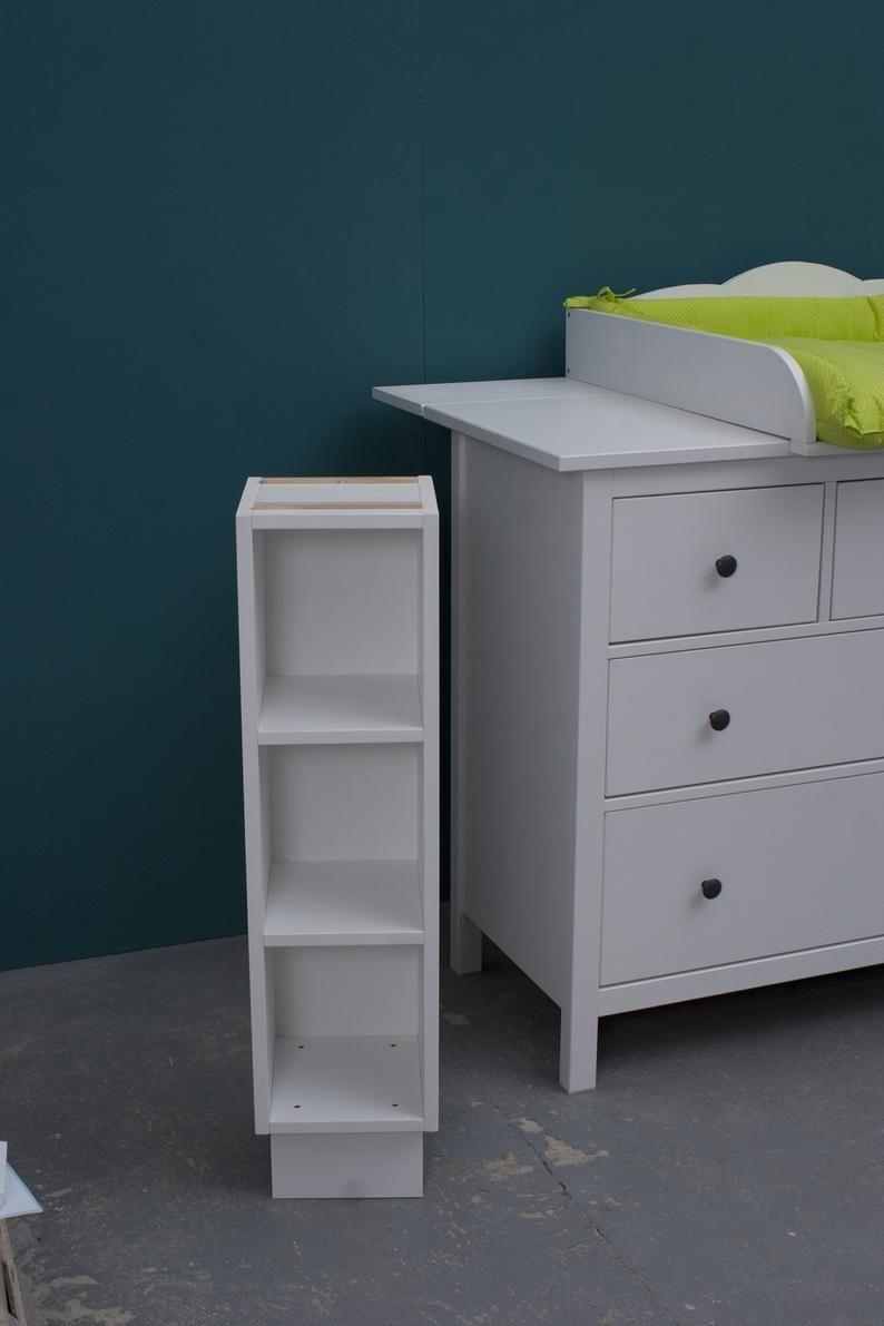 Puckdaddy Stauraumregal für IKEA Hemnes Kommode 2er Set