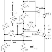 21w class ab audio amplifier  audio amplifier circuit