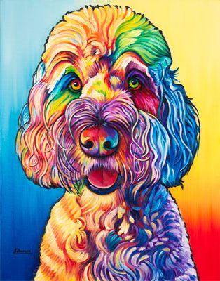 Pin By Debra G Derouen On Animal Paintings Dog Pop Art Animal