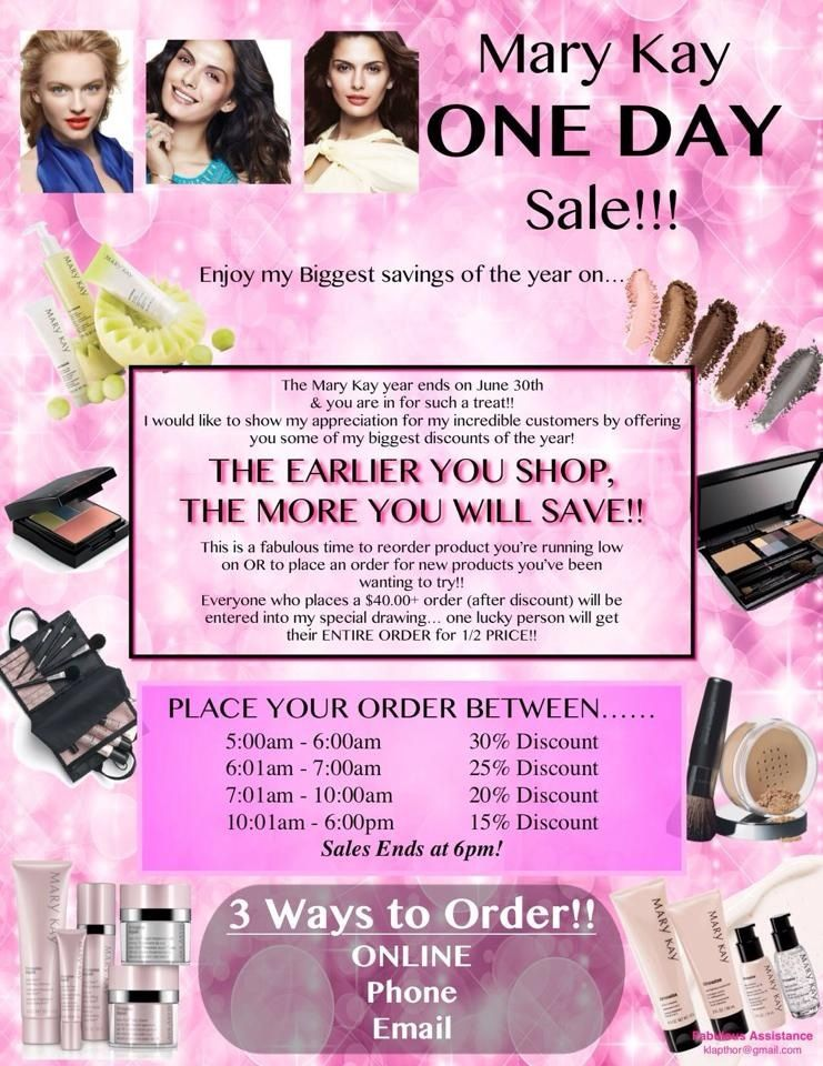 END OF THE YEAR BLOW OUT SALE!!! Mary kay party, Mary