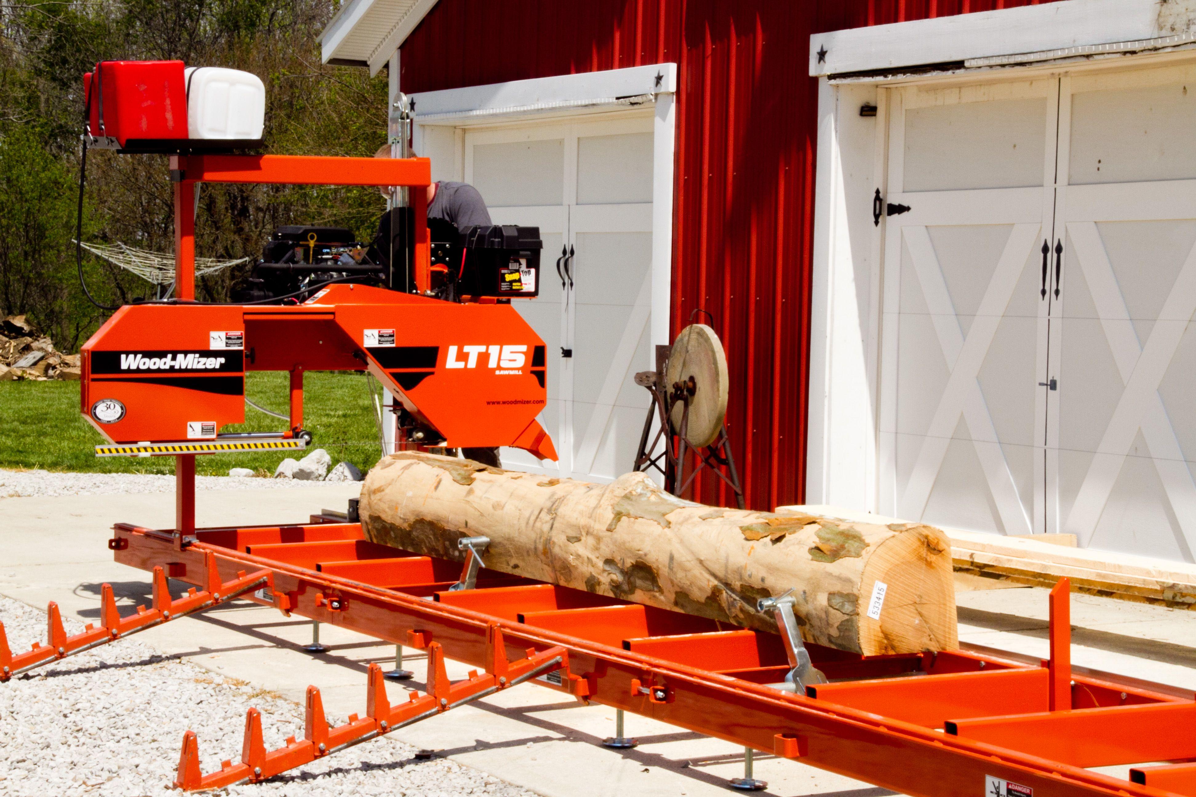 LT15 - The World Standard in manual, stationary sawmills
