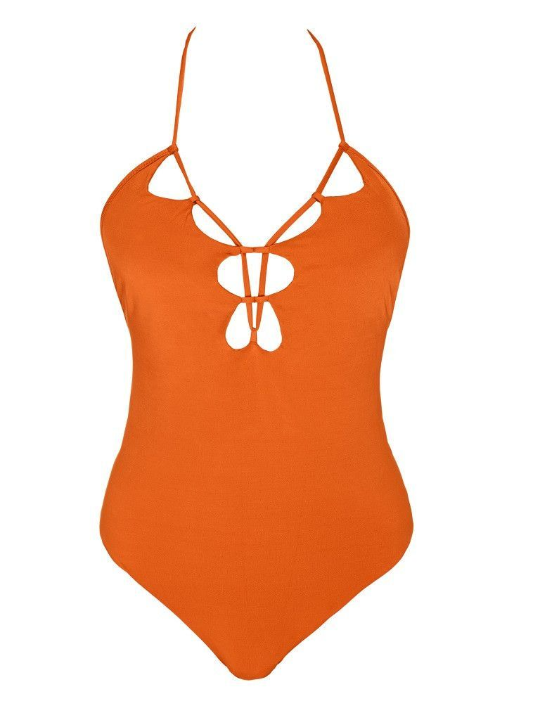 California Dreaming Scalloped One Piece