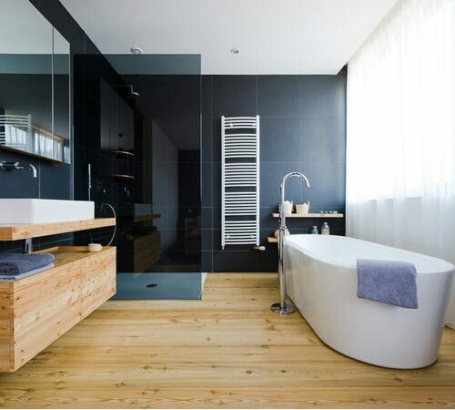 Pin de Mariana Gc en Home | Baño piso de madera, Pisos ...
