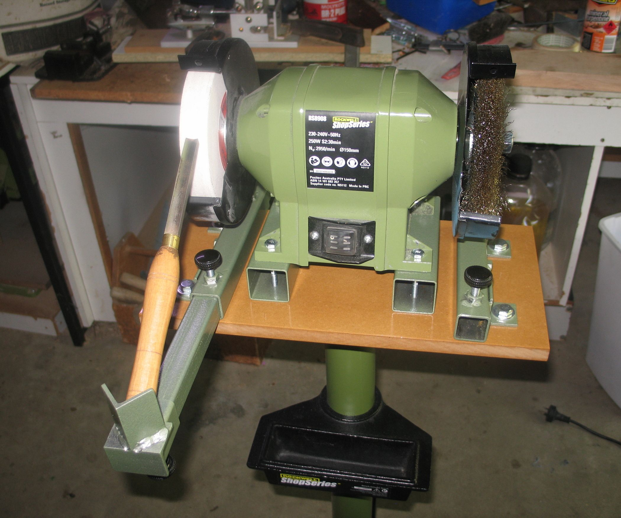 Sharpening Jig For Turning Chisels Tools Wood Lathe