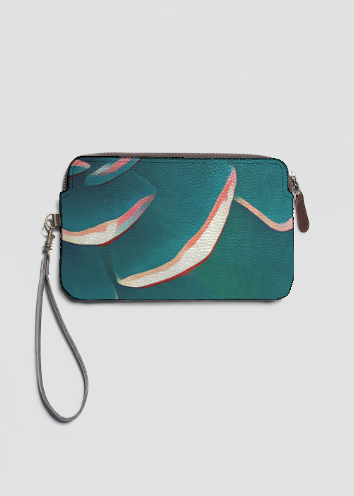 VIDA Statement Clutch - Turquoise Clutch by VIDA