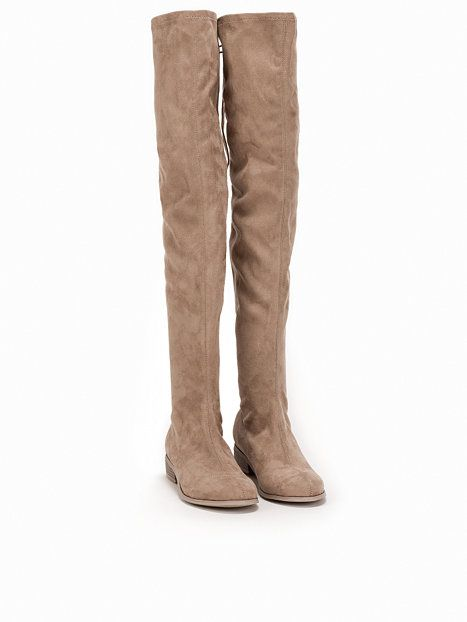 Flat Thigh High Boot, NLY Shoes | Thigh high boots flat