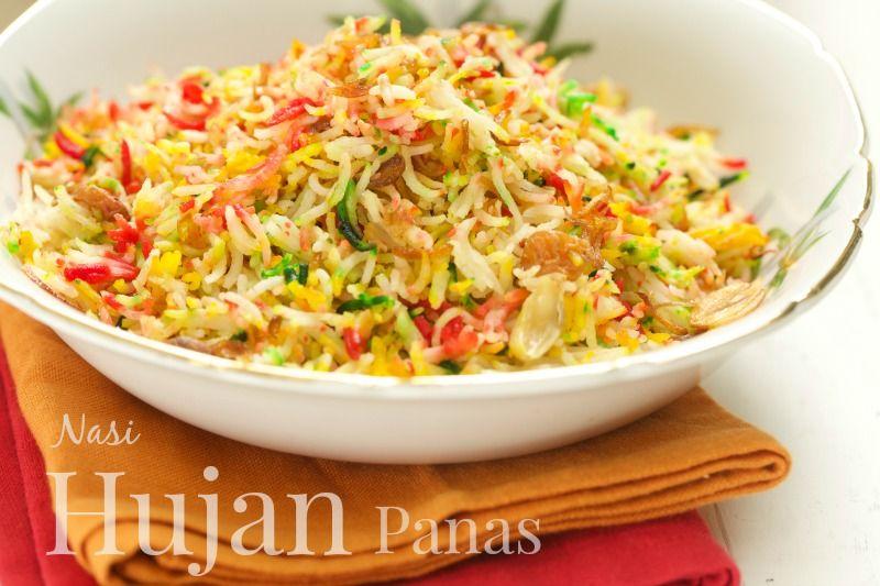 Nasi Hujan Panas Yang Sangat Menyelerakan Masam Manis Resep Masakan Asia Resep Masakan Resep Makanan