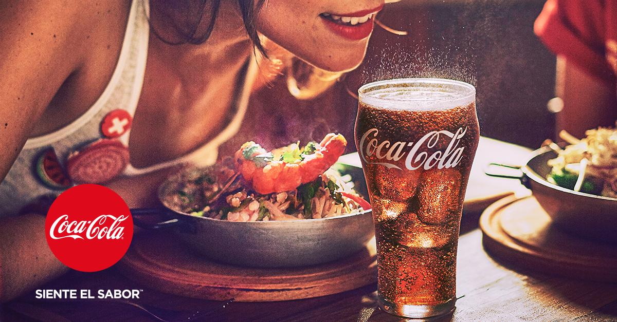 Publicidad Coca Cola Siente El Sabor Pin En Carbone