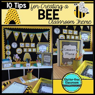 Photos Ideas Printable Classroom Decorations To Help Teachers Plan Create An Inviting Bees Themed On A Budget