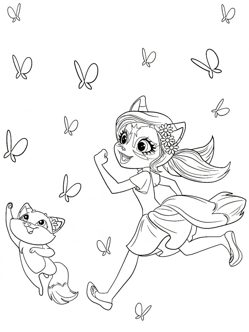 Enchantimals New Free Printable Coloring Pages Cute Coloring Pages Coloring Pages Disney Coloring Pages