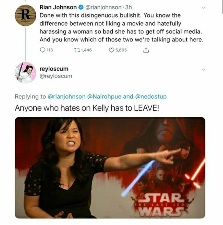 Here Here Anyone Who Hates Kelly Marie Tran Is Officially Out Of The Fandom Star Wars Humor Star Wars Fandom Star Wars Images What does » uncultured swine « mean? pinterest