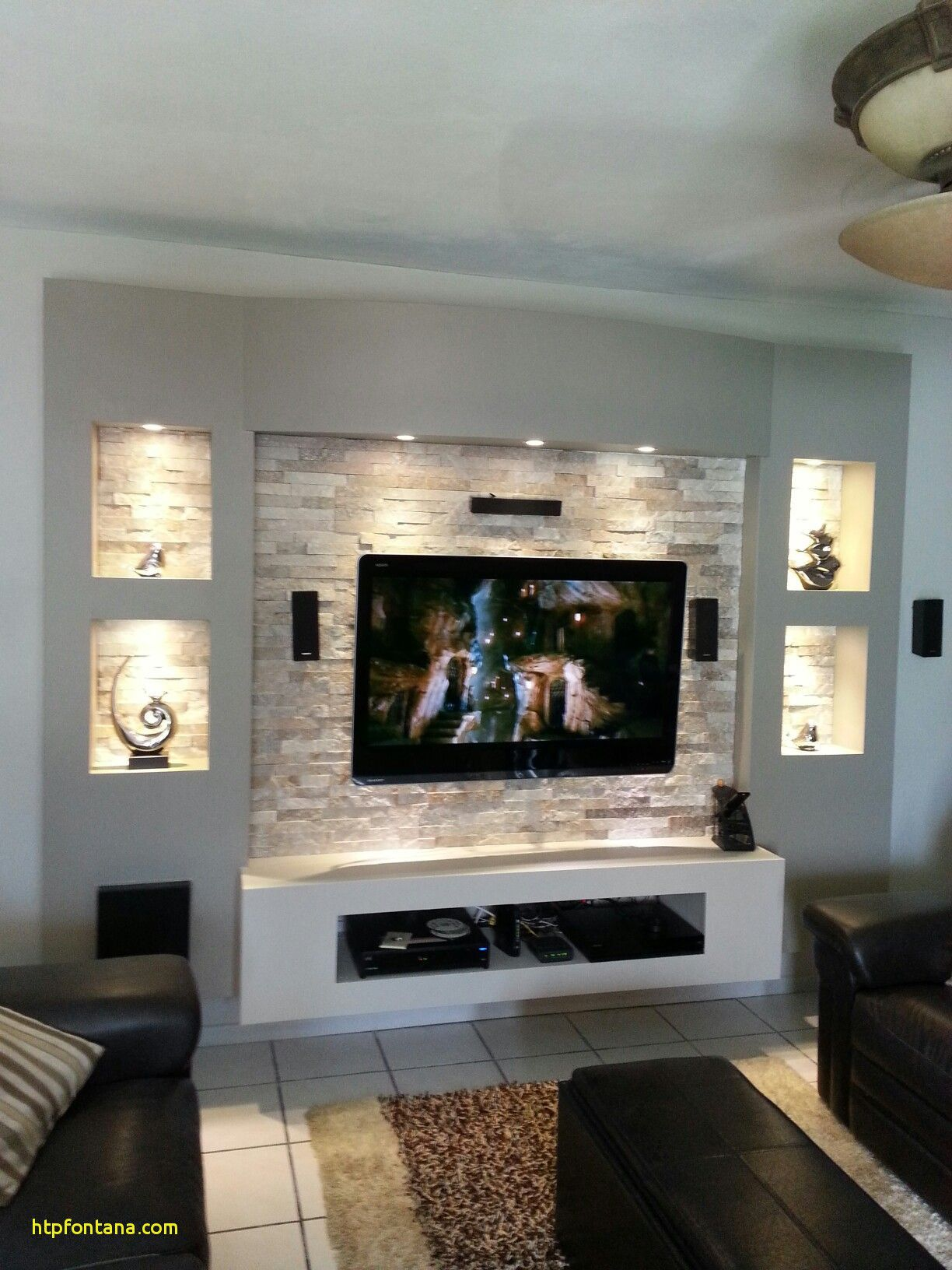 Lighting In Display Contrast In Textures Cheap Living Room Decor