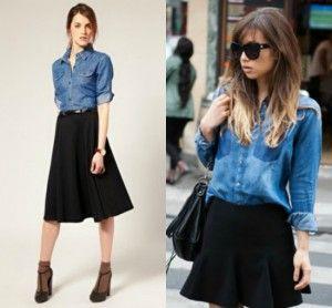 aa1bd65fc Cómo combinar una falda negra 3 | Inspiración para mi estilo ...