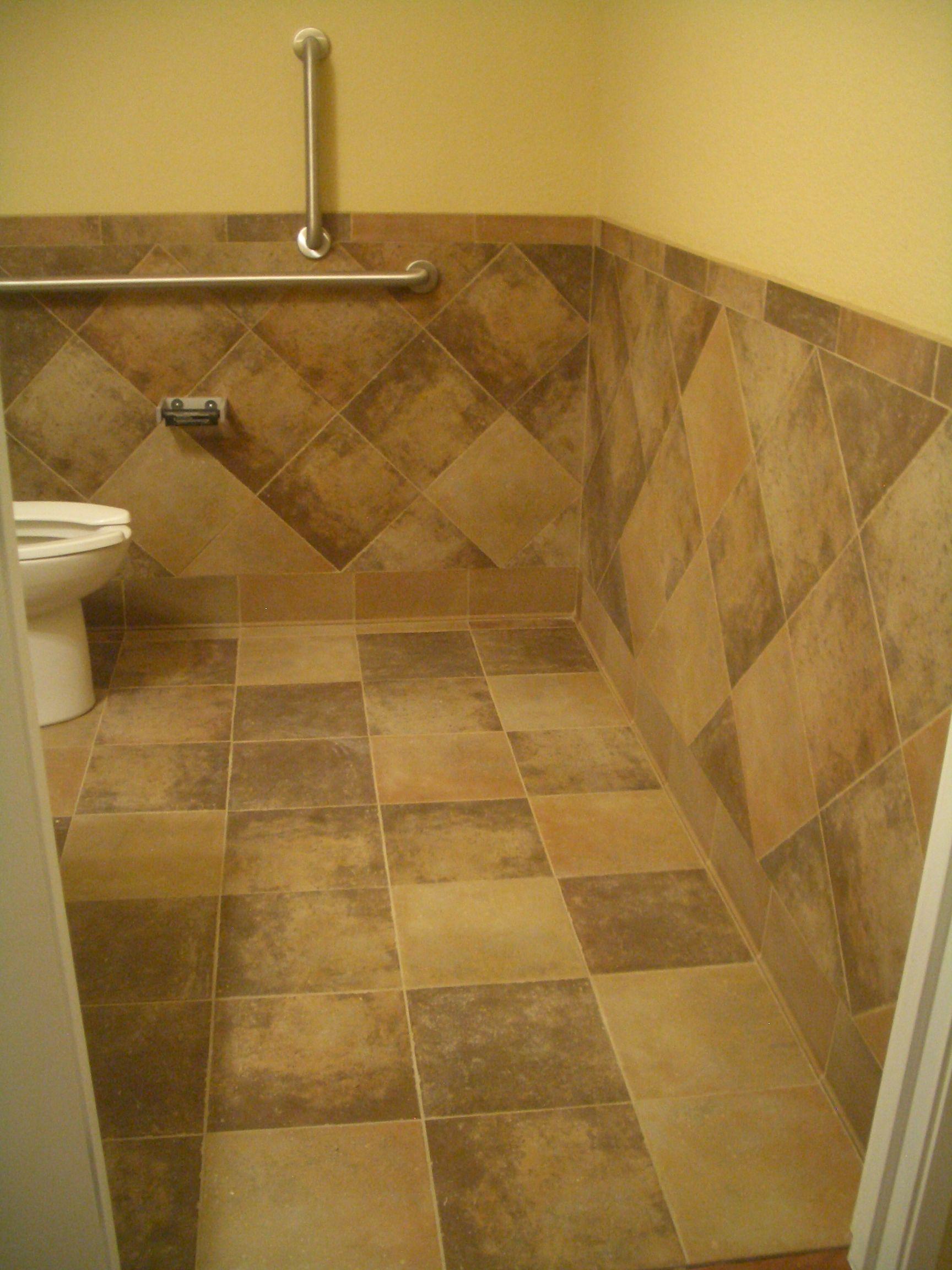tiled waincoating bathroom tile wainscoting bathroom
