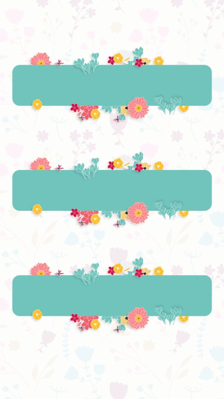 Papan nama   Floral poster, Graphic design background templates ...