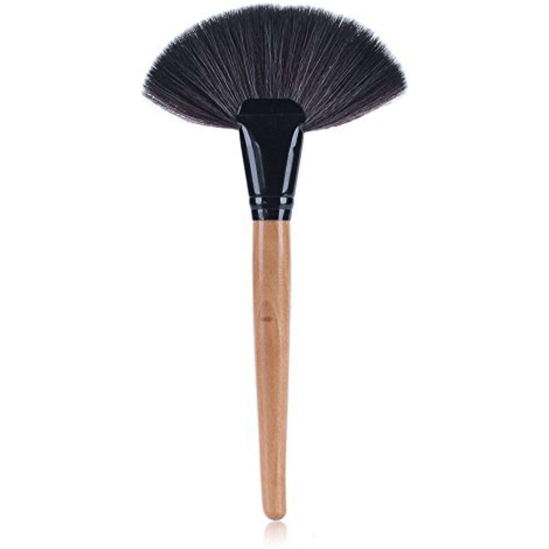Neverland Beauty Professional Slim Large Fan Makeup Brush Blending Highlighter Blusher Contour Powder B Fan Brush Makeup Face Makeup Brush Makeup Tools Brushes