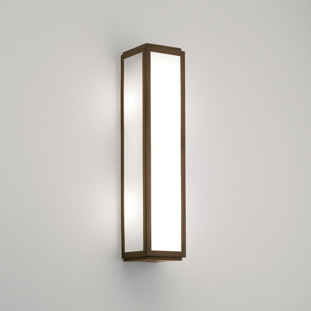 Bathroom Wall Light Fixtures Uk astro 0877 mashiko classic 360 2 light bathroom wall light ip44