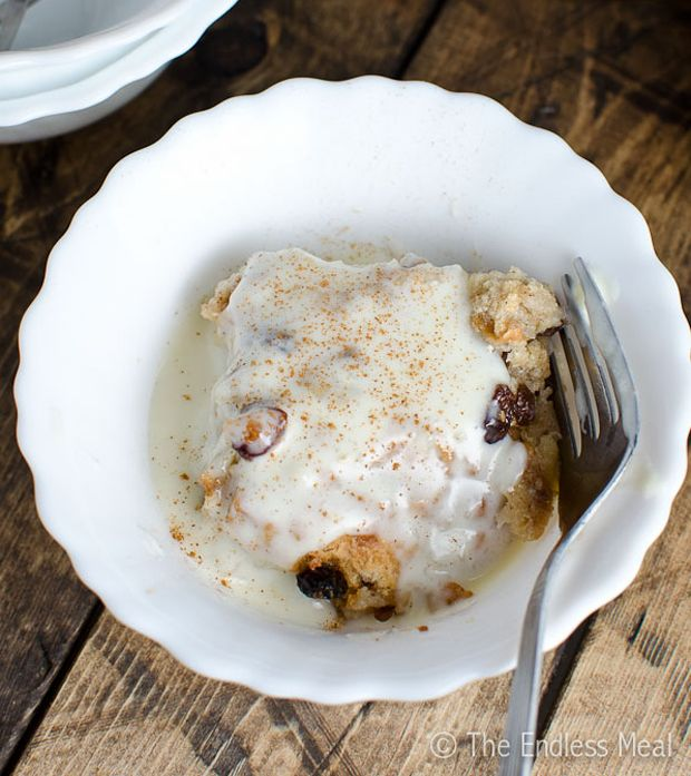 Bread Pudding With Bourbon Cream Sauce Recipe