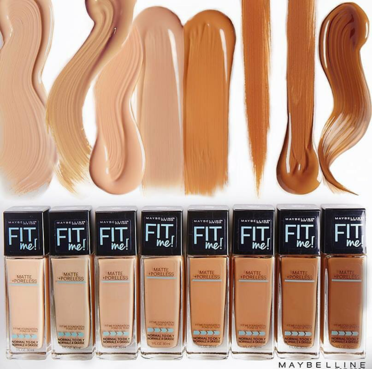 20+ Maybelline fit me fondotinta swatches ideas in 2021