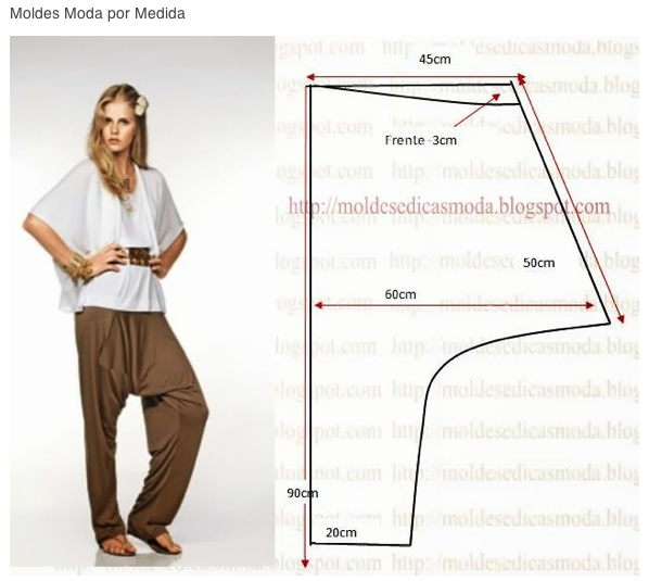 Journey - Drop Crotch Pants | sewing projects | Pinterest | Costura ...