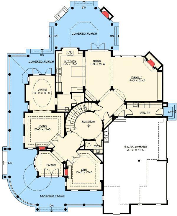 Award Winning House Plan Luxury House Plans Floor Plans House Plans