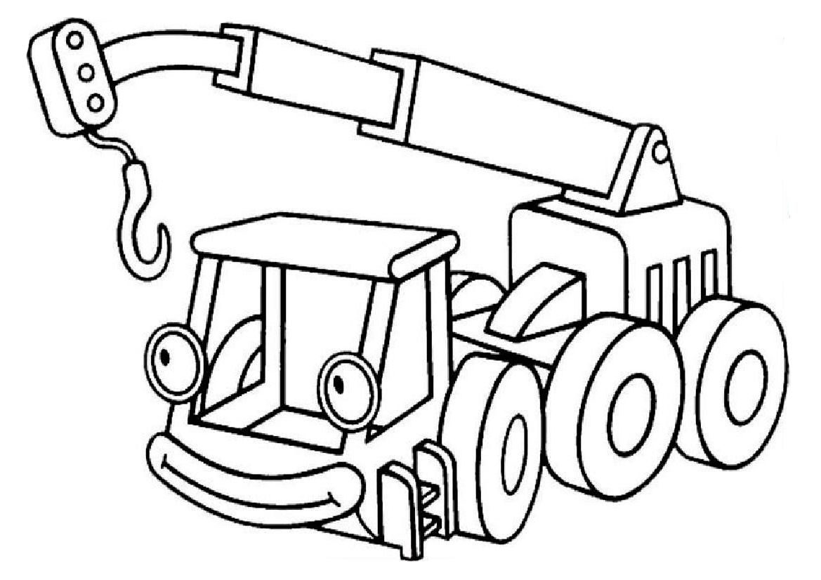 Free bob the builder coloring pages with | Coloring For Kids | Pinterest