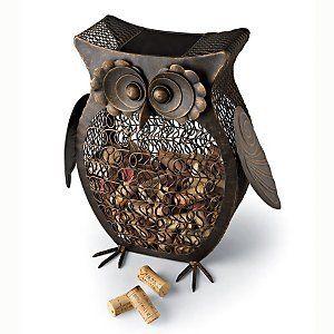 Owl Wine Cork Catcher The Wine Enthusiast http://www.amazon.com/dp/B00DENPHL2/ref=cm_sw_r_pi_dp_mWcCvb0M99YK9