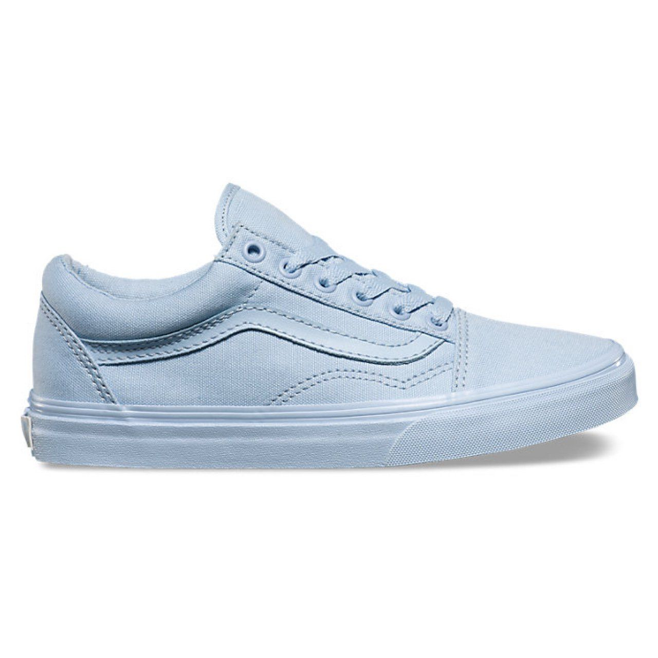 Mono Vans Old Skool In Skyway Baby Blue Size Us 6 5 Mens Us 8 Women S Never Worn Og 55 Shoes Classic Shoes