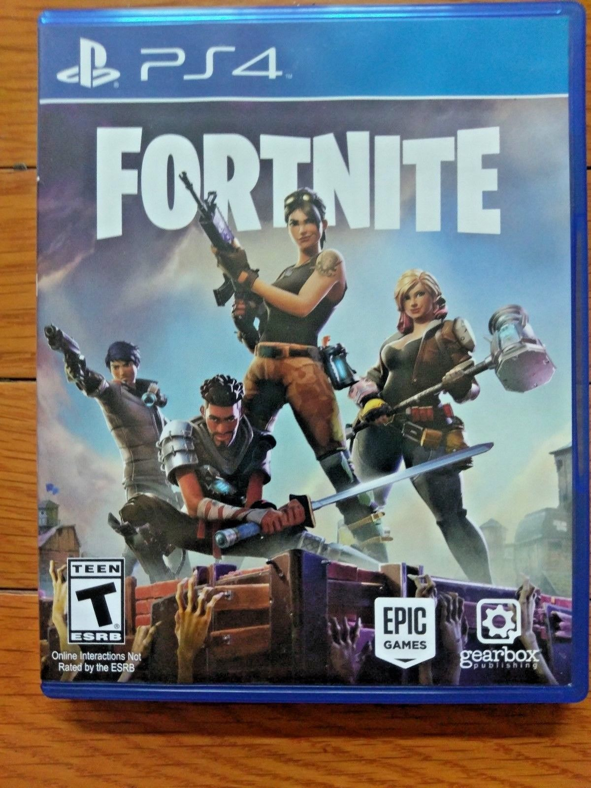 Fortnite Sony Playstation 4 2017 Ps4 Game 44 95 End