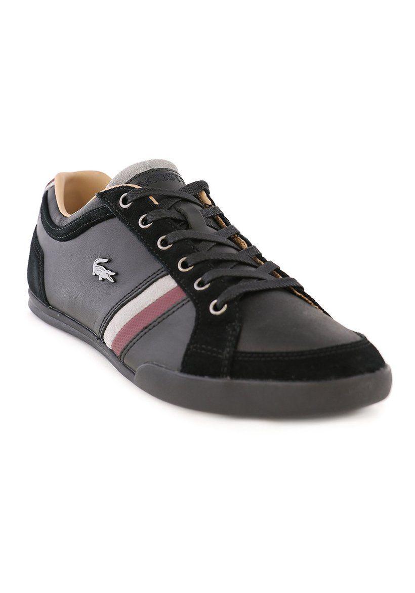 a6f71746389de8 Lacoste shoes Men Sneakers Trainers Lace Up Leather Top Lo Marcel Casual  Remix