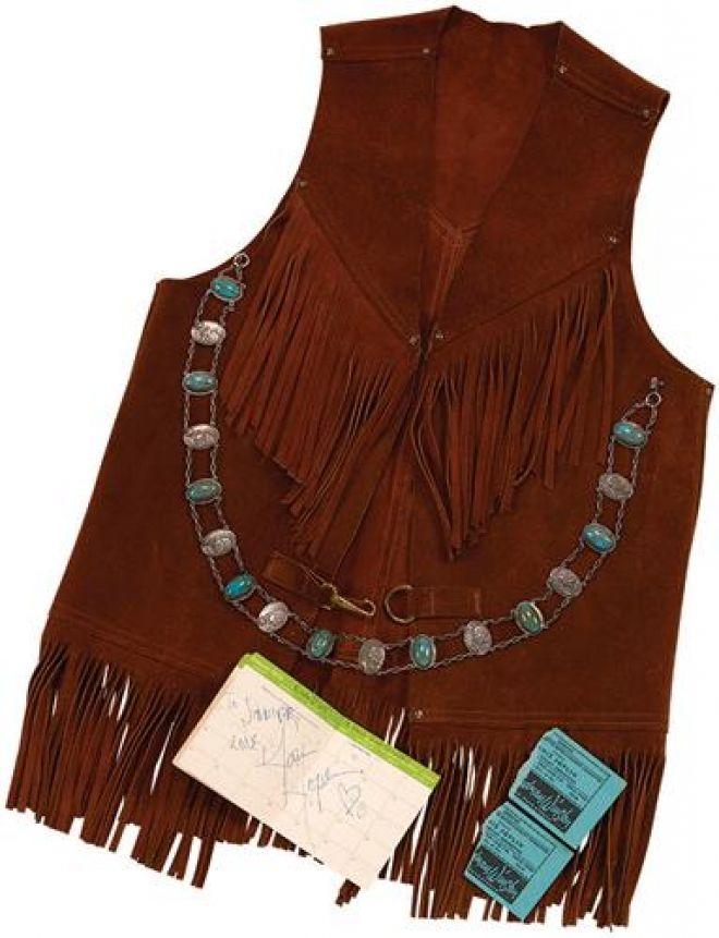 Janis Joplin Vest Bought Off Craigslist Sells For 13.6 K ...