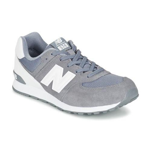 New Balance ML574 Gris / Blanc - Livraison Gratuite avec - Chaussures Baskets basses