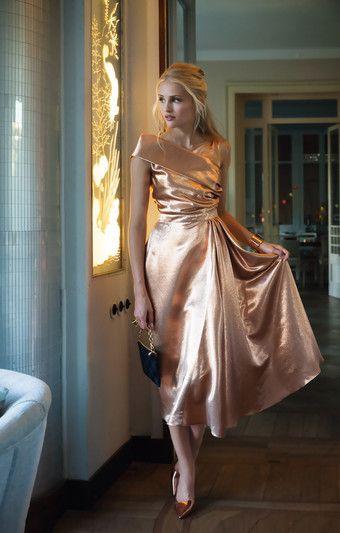 Burda Style 50ties Abendkleid Aus Dem Sonderheft