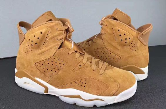 Will You Be Rocking The Air Jordan 6 oroen Harvest (Wheat) This