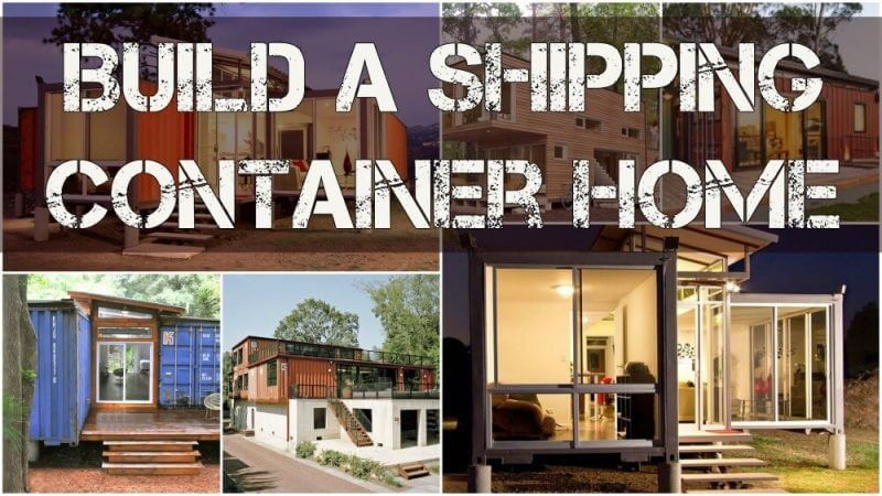 Where Can I Buy A Container Van House Do You Need Planning Permission For A Container Home In Ir Container House Building A Container Home Container Homes Cost