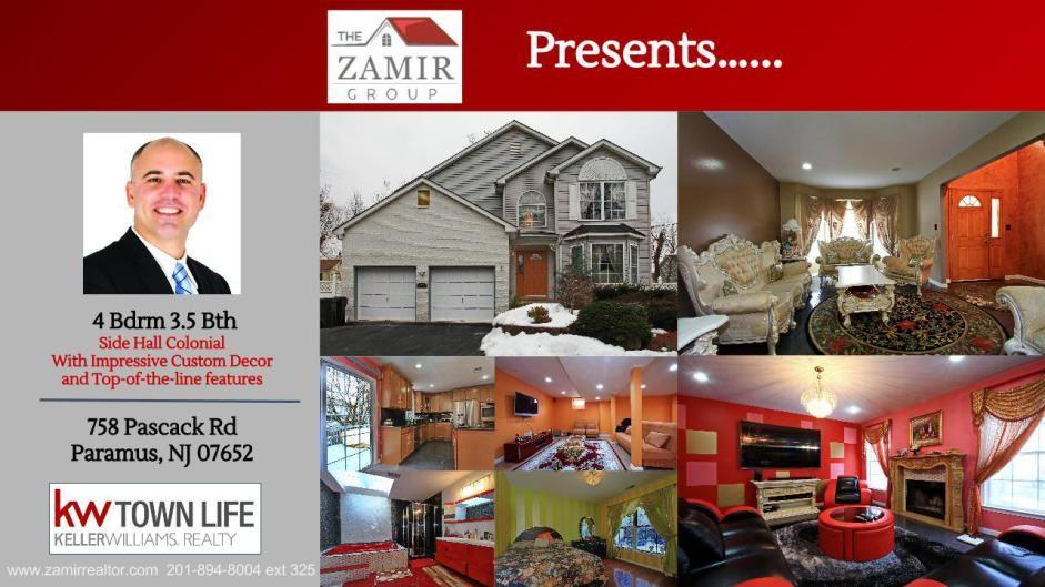 Home For Sale Paramus Nj Bergen County Zohar Zamir Home Theater Wiring California Closets Fair Lawn