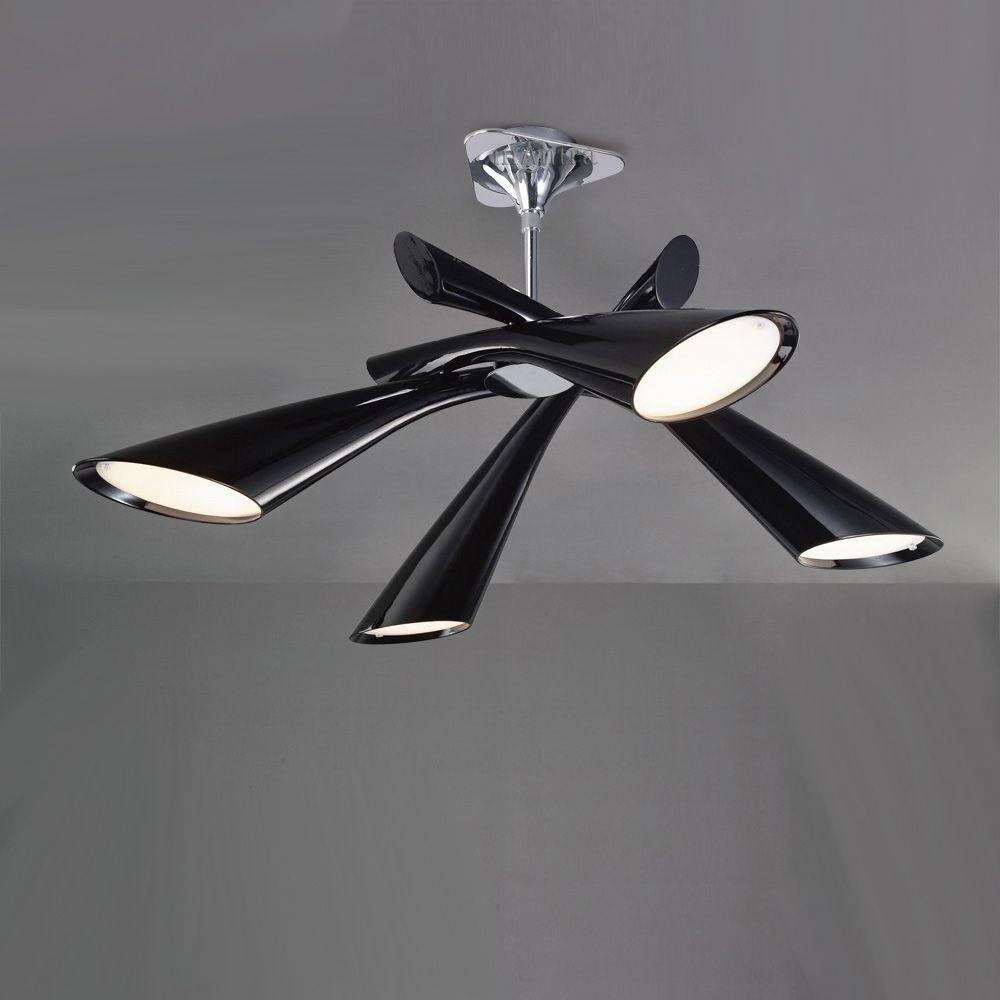 Mantra m0901 pop 4 light black ceiling pendant lighting mantra m0901 pop 4 light black ceiling pendant aloadofball Images