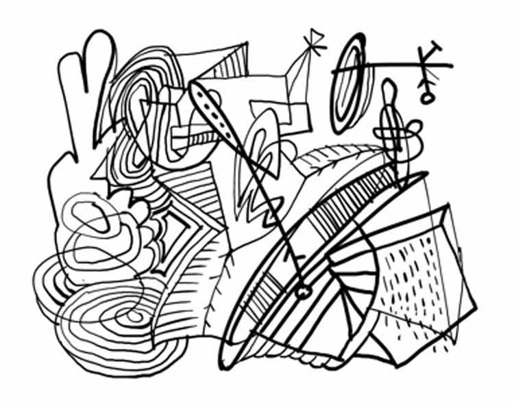 abstract coloring pages pinterest - photo#39