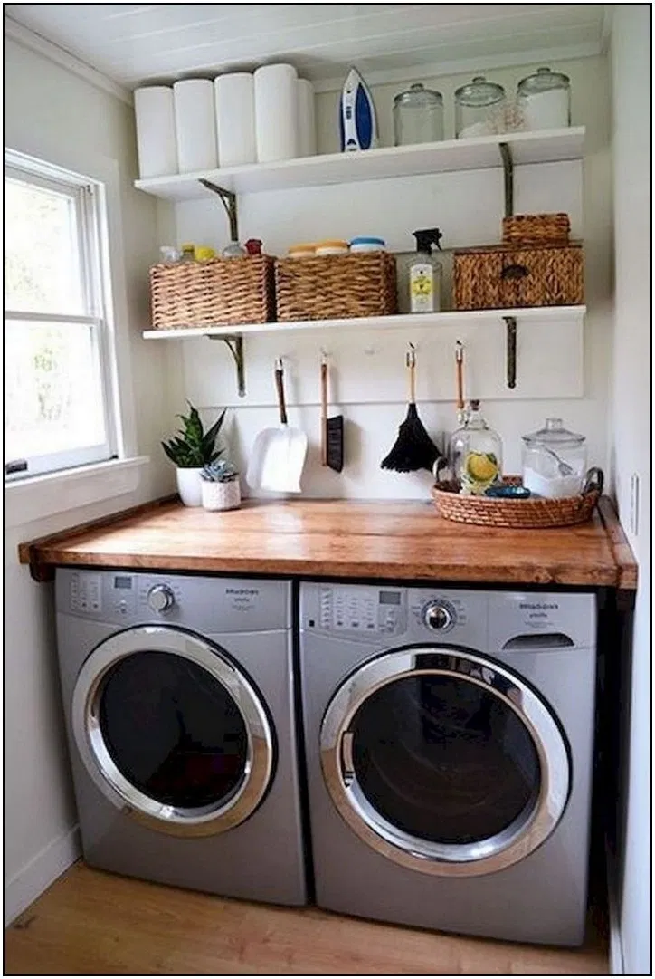 140 Cool Farmhouse Decor Ideas For Laundry Room 78 Homydepot Com